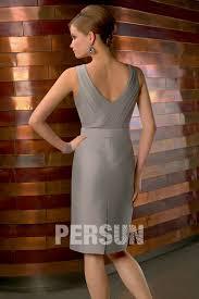 robe grise pour mariage optez pour la version de la robe courte de cocktail grise longue