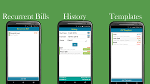 Bill Payment Spreadsheet Bills Organizer Free Android Apps On Google Play