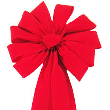 big christmas bows big velvet bows large wired gold edged bright