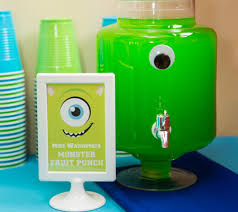 Monster Inc Baby Shower Decorations Real Party Inspiration Matteo U0027s Monsters University 1st Birthday