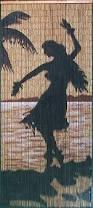 Amazon Beaded Curtains Amazon Com Hula Silhouette Beaded Curtain 125 Strands