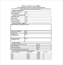 grant proposal template 40 free word excel pdf ppt format