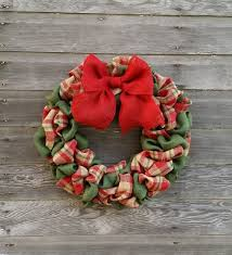 burlap christmas wreath how to make a christmas burlap wreath