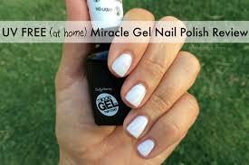 free at home miracle gel nail polish review