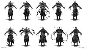 artstation scorpion redesign blake henriksen