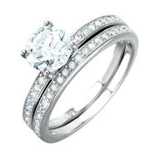 bridal sets uk sterling silver wedding ring sets sterling silver bridal sets uk