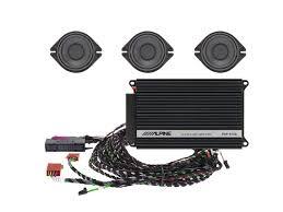 premium sound upgrade for audi a4 a5 and q5 alpine spc 200au