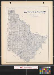 New Mexico County Map by Reeves County The Portal To Texas History