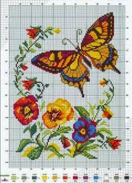 butterfly free cross stitch pattern theses are several beautiful