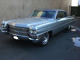 1963 cadillac 1963 cadillac coupe deville original 2 door coupe silver great
