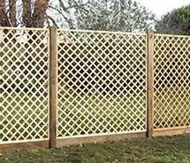 Rustic Trellis Panels Garden Treated Fence Panels Fencing Supplies Lawsons