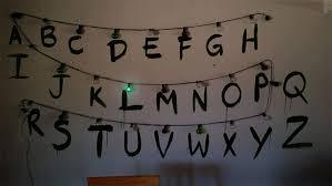 a stranger things christmas light message maker