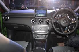 mercedes dashboard 2016 mercedes benz a class dashboard launch indian autos blog