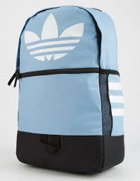 adidas classic trefoil backpack light pink adidas originals trefoil light blue backpack ltblu 5145628 tillys