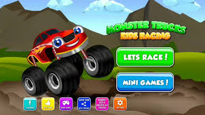 monster truck jam videos for kids monster truck kids game puzzle and coloring great for kids