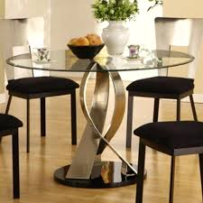 metal top round dining table round glass dining table with metal base luisreguero com
