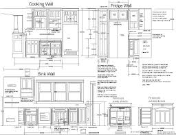blueprints of homes enchanting kitchen cabinet blueprints with decorating home ideas