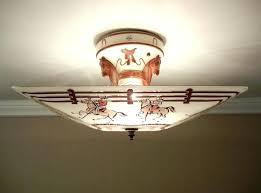 Ls Ceiling Lights Western Ceiling Light Fixtures Ls Ls Cowboy Ceiling Light Fixture