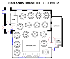 Deck Floor Plan by The Deck Room Oatlands House