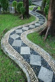 Gartengestaltung Mit Steinen Gartenwege Anlegen Ideen Für Den Kiesweg Im Garten