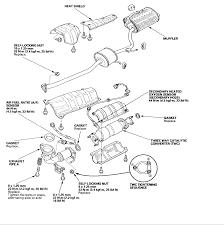 2003 honda accord catalytic converter 2005 honda accord ex catalytic converter loud heat shield cylinder