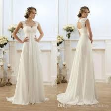empire waist plus size wedding dress vintage modest wedding gowns capped sleeves empire waist plus size