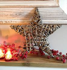 Rattan Reindeer Christmas Decorations by Wicker Star Decoration Home Decor Inside U0026 Out Pinterest