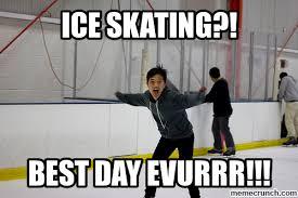 Skating Memes - ice skating puns