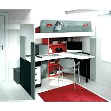 lit mezzanine avec bureau intégré lit mezzanine et bureau lit mezzanine 1 place bureau integre