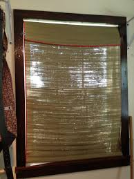 How To Make Roll Up Curtains Mrs Suzie Housewife Easy Diy Bamboo Curtain