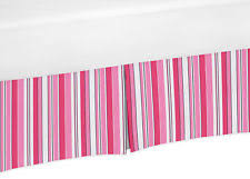 Pottery Barn Ruffle Crib Skirt Girls U0027 Striped Skirts Ebay