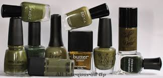 fall 2011 nail polish trend military greens all lacquered up