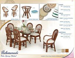 Tropical Dining Room Furniture Popular Tropical Dining Room Furniture With 3