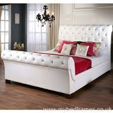 Cheap Leather Bed Frame Awesome 58 Best Leather Bed Frames Images On Pinterest Within With