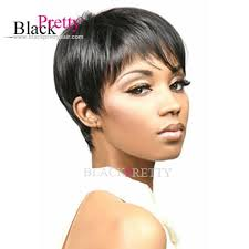 short hairstyle wigs for black women brazilian hair wigs black human short hair full lace wig african
