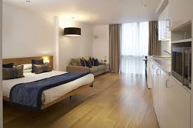 Bedroom  Retro Minimalist Bedroom Apartment With Wooden Classic - Small modern bedroom design