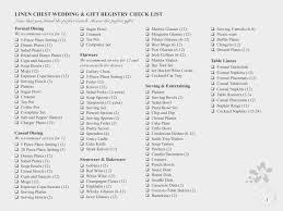 wedding registry checklist bedding this wedding registry checklist from pucentro is ideal