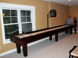 How To Play Table Shuffleboard How Much Space Is Required To Play Shuffleboard Mcclure Tables
