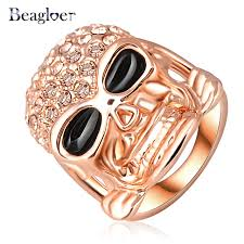 aliexpress buy beagloer new arrival ring gold beagloer hot sale ring gold color pave austrian