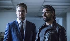 Seeking Tonight S Episode Infinite Earths Slade Seeks Help In New Arrow Clip