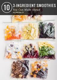 best 25 make ahead smoothies ideas on fruit