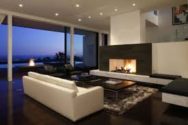 Amazing Minimalist Contemporary Living Room Design With Fireplace - Living room designs with fireplace