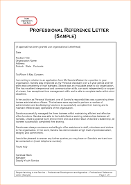 Survey Cover Letter Template by Reference Letter Sample Reference Letters Letters Of