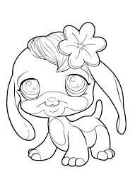 littlest pet shop coloring pages of dogs littlest pet shop coloring pages for kids to print for free littlest