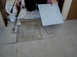 Laying Ceramic Floor Tile Bad Laying Ceramic