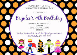 party halloween quotes halloween birthday party invitations birthday party invitations