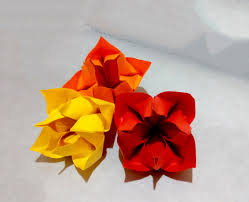 origami home decor bouquet for christmas origami bunch of flowers for present house