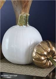 halloween decorations made at home spray painting pumpkins for modern decor hometalk