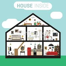 house inside interior vector art thinkstock