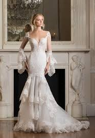 wedding gowns with sleeves wedding dress looks we dramatic sleeves brides